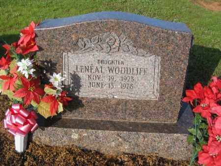 WOODLIFF, LENEAL PRISCILLA - Logan County, Arkansas | LENEAL PRISCILLA WOODLIFF - Arkansas Gravestone Photos