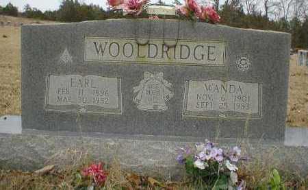 WOOLDRIDGE, EARL - Logan County, Arkansas   EARL WOOLDRIDGE - Arkansas Gravestone Photos