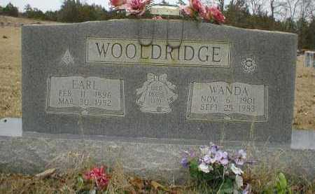 WOOLDRIDGE, EARL - Logan County, Arkansas | EARL WOOLDRIDGE - Arkansas Gravestone Photos