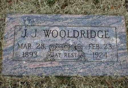 WOOLDRIDGE, J  J - Logan County, Arkansas | J  J WOOLDRIDGE - Arkansas Gravestone Photos