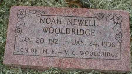 WOOLDRIDGE, NOAH NEWELL - Logan County, Arkansas | NOAH NEWELL WOOLDRIDGE - Arkansas Gravestone Photos