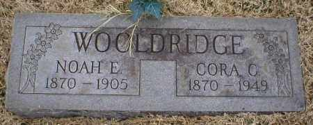 WOOLDRIDGE, CORA C - Logan County, Arkansas | CORA C WOOLDRIDGE - Arkansas Gravestone Photos