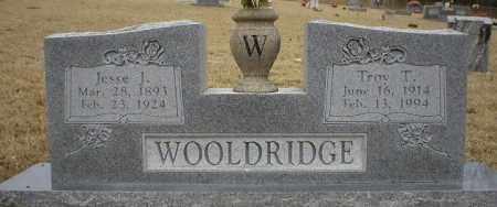 WOOLDRIDGE, JESSE J - Logan County, Arkansas | JESSE J WOOLDRIDGE - Arkansas Gravestone Photos