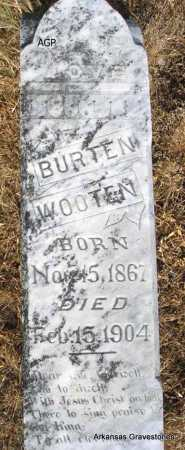 WOOTEN, BURTEN - Logan County, Arkansas | BURTEN WOOTEN - Arkansas Gravestone Photos