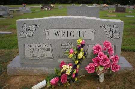 WRIGHT, WILLIE MARION - Logan County, Arkansas | WILLIE MARION WRIGHT - Arkansas Gravestone Photos