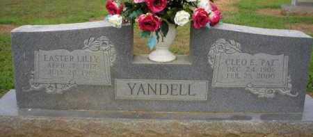 YANDELL, EASTER - Logan County, Arkansas | EASTER YANDELL - Arkansas Gravestone Photos