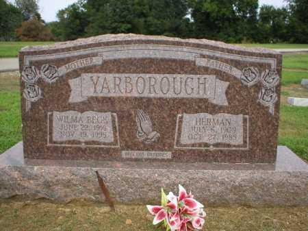 YARBOROUGH, HERMAN - Logan County, Arkansas | HERMAN YARBOROUGH - Arkansas Gravestone Photos