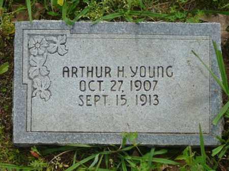 YOUNG, ARTHUR - Logan County, Arkansas | ARTHUR YOUNG - Arkansas Gravestone Photos