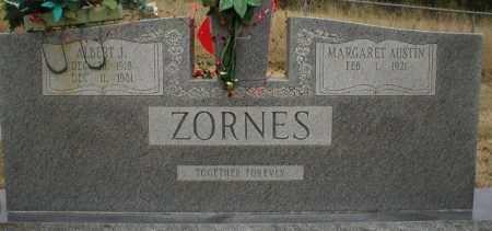 ZORNES, ALBERT J. - Logan County, Arkansas | ALBERT J. ZORNES - Arkansas Gravestone Photos