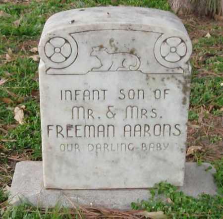 AARONS, INFANT SON - Lonoke County, Arkansas   INFANT SON AARONS - Arkansas Gravestone Photos