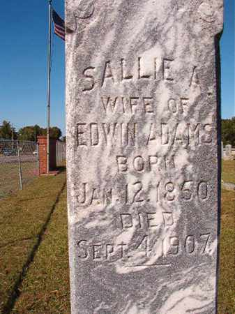 ADAMS, SALLIE A - Lonoke County, Arkansas | SALLIE A ADAMS - Arkansas Gravestone Photos