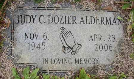 ALDERMAN, JUDY C. - Lonoke County, Arkansas | JUDY C. ALDERMAN - Arkansas Gravestone Photos
