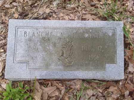 ALEXANDER, BLANCHE A. - Lonoke County, Arkansas   BLANCHE A. ALEXANDER - Arkansas Gravestone Photos