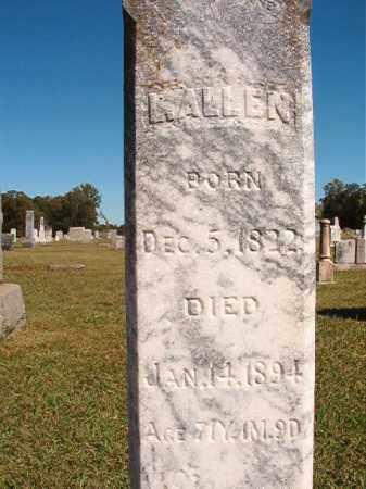 ALLEN, L - Lonoke County, Arkansas | L ALLEN - Arkansas Gravestone Photos