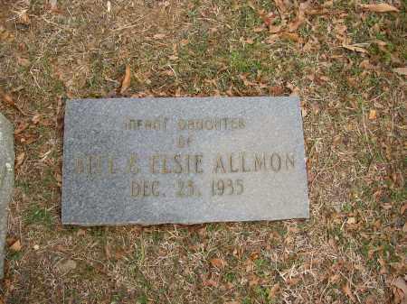 ALLMON, INFANT DAUGHTER - Lonoke County, Arkansas   INFANT DAUGHTER ALLMON - Arkansas Gravestone Photos
