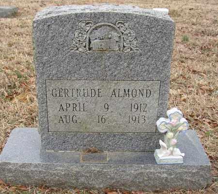 ALMOND, GERTRUDE - Lonoke County, Arkansas   GERTRUDE ALMOND - Arkansas Gravestone Photos