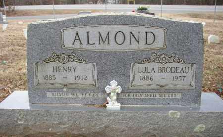 ALMOND, LULA BRODEAU - Lonoke County, Arkansas   LULA BRODEAU ALMOND - Arkansas Gravestone Photos