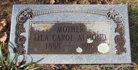 ALMOND, LILA CAROL - Lonoke County, Arkansas | LILA CAROL ALMOND - Arkansas Gravestone Photos