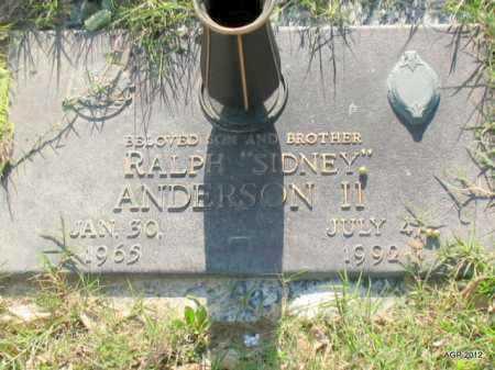 ANDERSON, II, RALPH SIDNEY - Lonoke County, Arkansas | RALPH SIDNEY ANDERSON, II - Arkansas Gravestone Photos