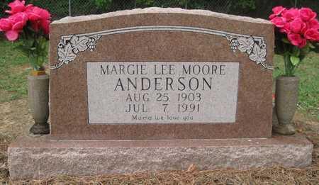 ANDERSON, MARGIE LEE - Lonoke County, Arkansas | MARGIE LEE ANDERSON - Arkansas Gravestone Photos