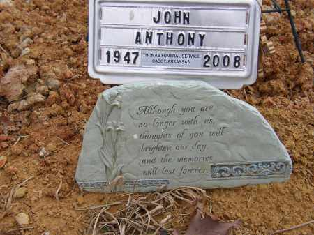 ANTHONY, JOHN - Lonoke County, Arkansas   JOHN ANTHONY - Arkansas Gravestone Photos