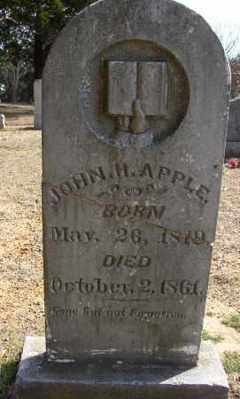 APPLE, JOHN H. - Lonoke County, Arkansas | JOHN H. APPLE - Arkansas Gravestone Photos