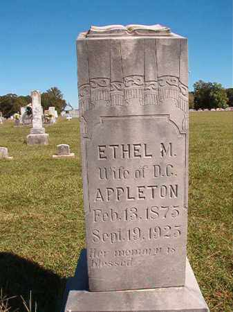 APPLETON, ETHEL M - Lonoke County, Arkansas | ETHEL M APPLETON - Arkansas Gravestone Photos