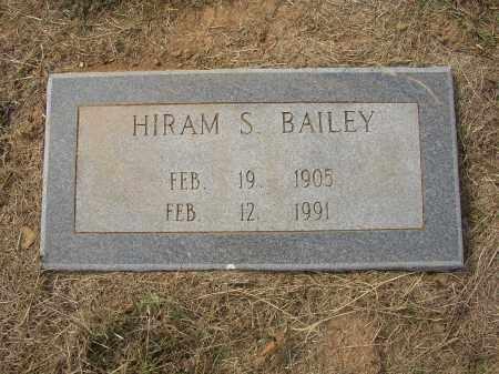 BAILEY, HIRAM S. - Lonoke County, Arkansas   HIRAM S. BAILEY - Arkansas Gravestone Photos