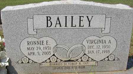 BAILEY, RONNIE E. - Lonoke County, Arkansas | RONNIE E. BAILEY - Arkansas Gravestone Photos