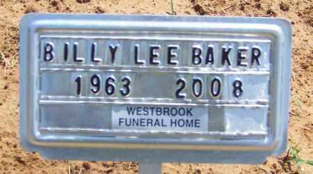 BAKER, BILLY LEE - Lonoke County, Arkansas | BILLY LEE BAKER - Arkansas Gravestone Photos