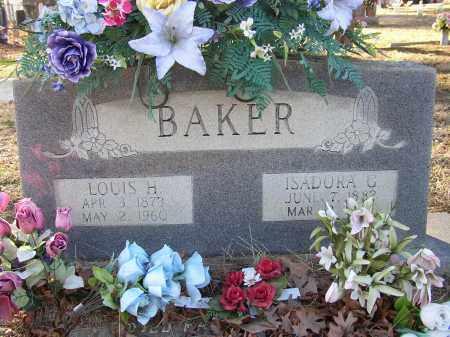 BAKER, LOUIS H. - Lonoke County, Arkansas | LOUIS H. BAKER - Arkansas Gravestone Photos