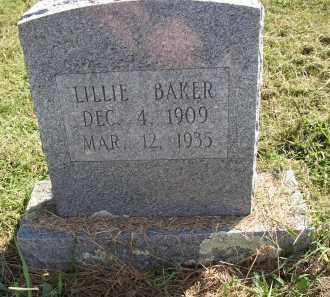BAKER, LILLIE - Lonoke County, Arkansas   LILLIE BAKER - Arkansas Gravestone Photos