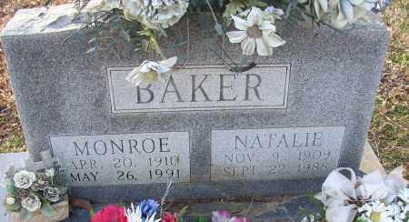BAKER, MONROE - Lonoke County, Arkansas   MONROE BAKER - Arkansas Gravestone Photos