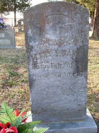 BAKER, MARY L. - Lonoke County, Arkansas | MARY L. BAKER - Arkansas Gravestone Photos