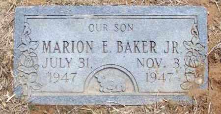 BAKER, MARION E. JR - Lonoke County, Arkansas | MARION E. JR BAKER - Arkansas Gravestone Photos
