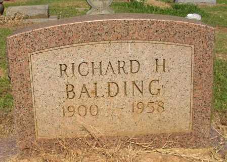 BALDING, RICHARD H. - Lonoke County, Arkansas | RICHARD H. BALDING - Arkansas Gravestone Photos
