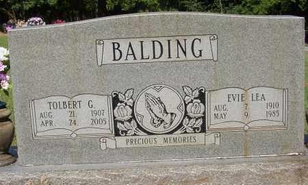 BALDING, TOLBERT G. - Lonoke County, Arkansas | TOLBERT G. BALDING - Arkansas Gravestone Photos