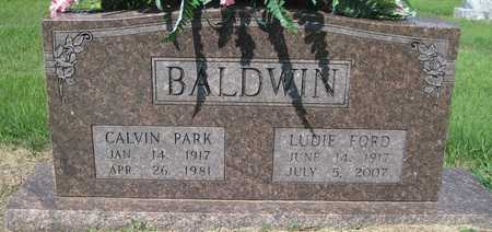 BALDWIN, CALVIN PARK - Lonoke County, Arkansas | CALVIN PARK BALDWIN - Arkansas Gravestone Photos