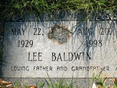 BALDWIN, LEE - Lonoke County, Arkansas   LEE BALDWIN - Arkansas Gravestone Photos