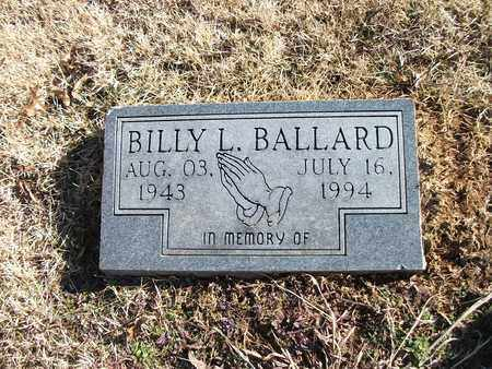 BALLARD, BILLY L - Lonoke County, Arkansas | BILLY L BALLARD - Arkansas Gravestone Photos