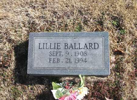 BALLARD, LILLIE - Lonoke County, Arkansas | LILLIE BALLARD - Arkansas Gravestone Photos