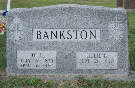 BANKSTON, LILLIE G - Lonoke County, Arkansas | LILLIE G BANKSTON - Arkansas Gravestone Photos