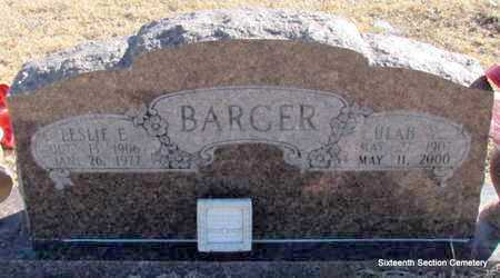 BARGER, LESLIE E - Lonoke County, Arkansas | LESLIE E BARGER - Arkansas Gravestone Photos