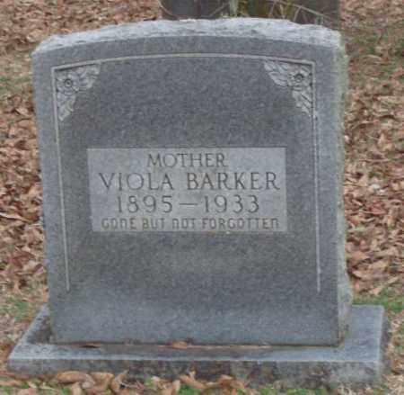 BARKER, VIOLA - Lonoke County, Arkansas | VIOLA BARKER - Arkansas Gravestone Photos