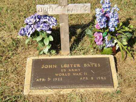 BATES (VETERAN WWII), JOHN LESTER - Lonoke County, Arkansas   JOHN LESTER BATES (VETERAN WWII) - Arkansas Gravestone Photos