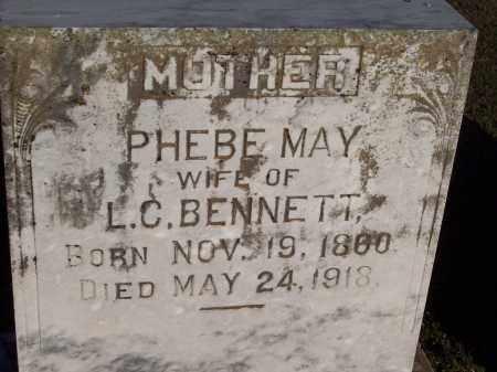 BENNETT, PHEBE MAY - Lonoke County, Arkansas | PHEBE MAY BENNETT - Arkansas Gravestone Photos
