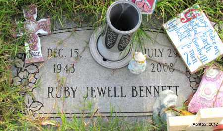 BENNETT, RUBY JEWELL - Lonoke County, Arkansas | RUBY JEWELL BENNETT - Arkansas Gravestone Photos