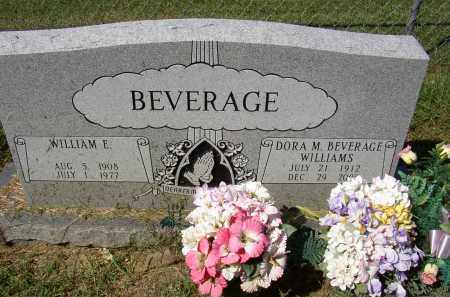 BEVERAGE, DORA M. - Lonoke County, Arkansas | DORA M. BEVERAGE - Arkansas Gravestone Photos