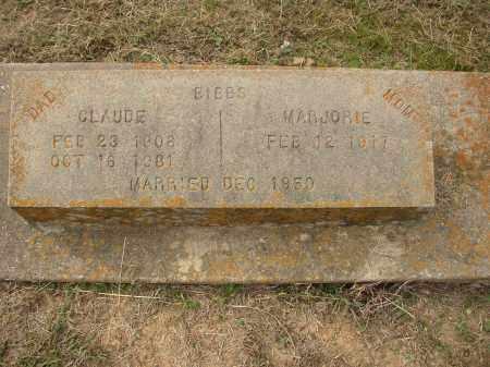 BIBBS, CLAUDE - Lonoke County, Arkansas | CLAUDE BIBBS - Arkansas Gravestone Photos