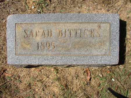 BITTICKS, SARAH - Lonoke County, Arkansas | SARAH BITTICKS - Arkansas Gravestone Photos